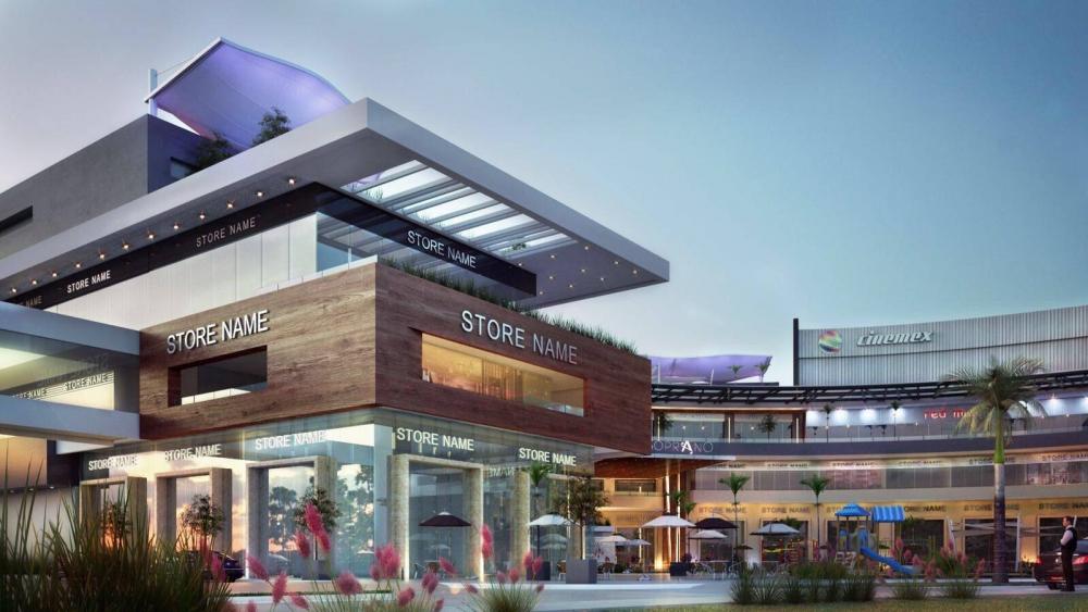 Los nuevos centros comerciales del sur de la ciudad